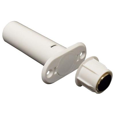 Elk 2-Way Wireless Recessed Door Sensor, White