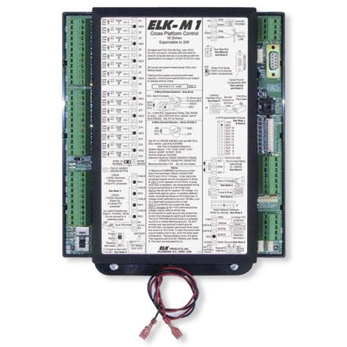 Elk M1 Gold Controller Kit Panel & M1KP2 Keypad