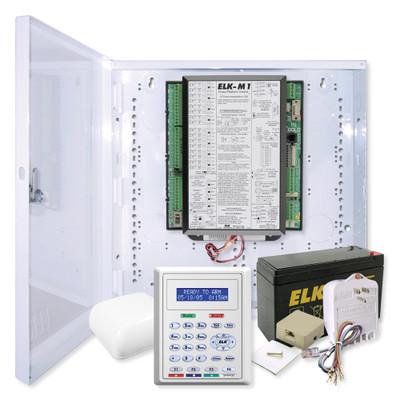 Elk M1 Gold Controller Kit with Enclosure & M1KP2 Keypad