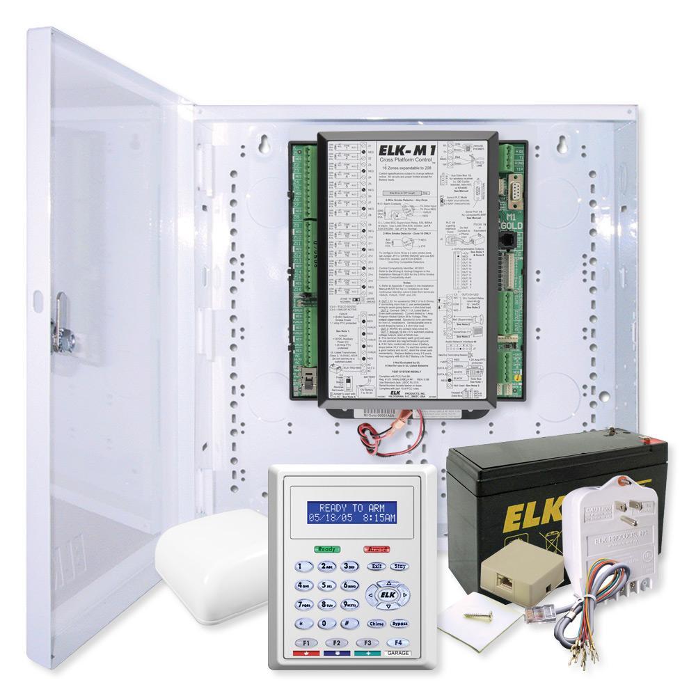 Elk M1 Gold Controller Kit & M1KP2 Keypad
