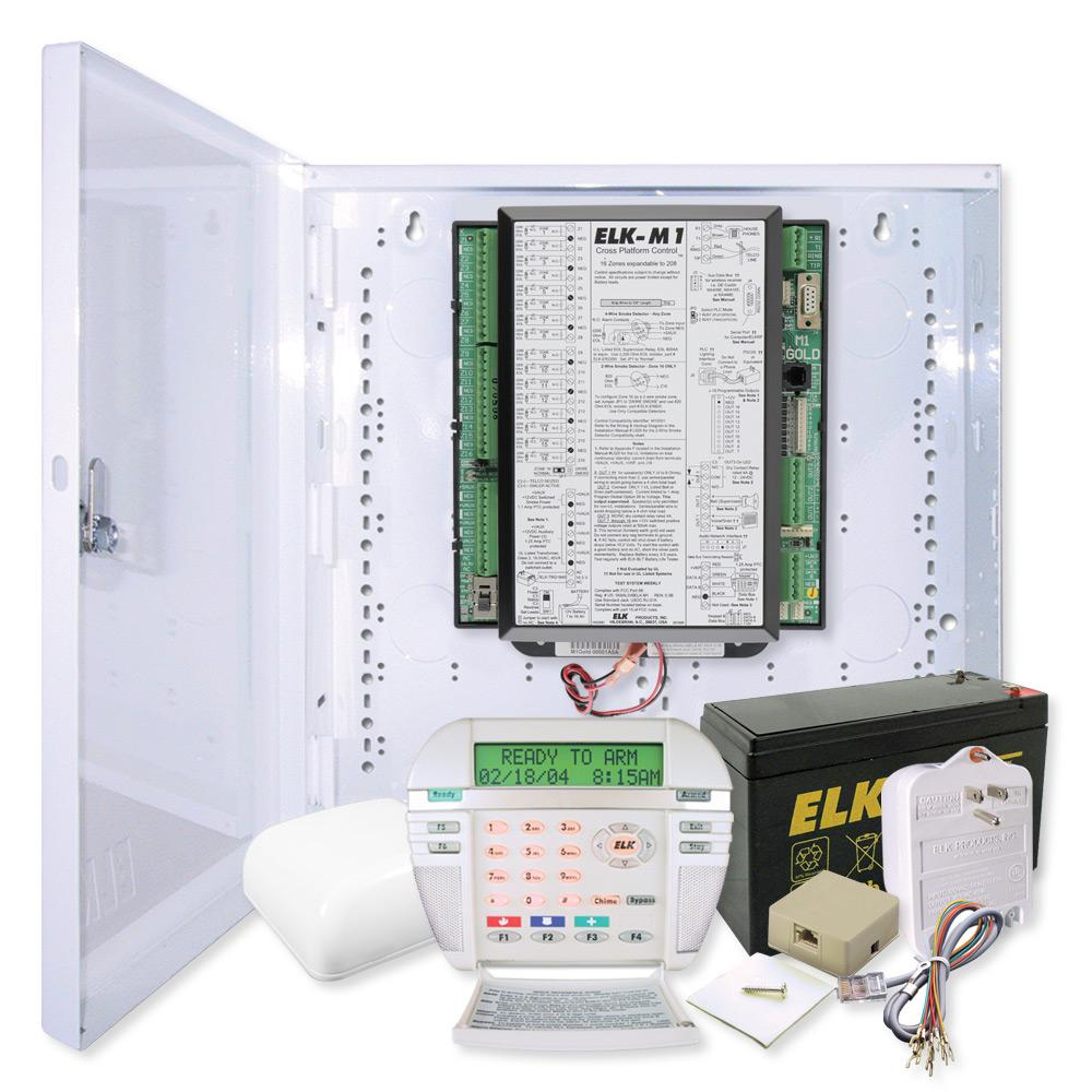 Elk M1 Gold Controller Kit & M1KP Keypad