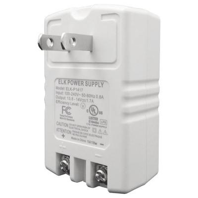 Elk Plug-in Power Supply, 14VDC, 1.7A