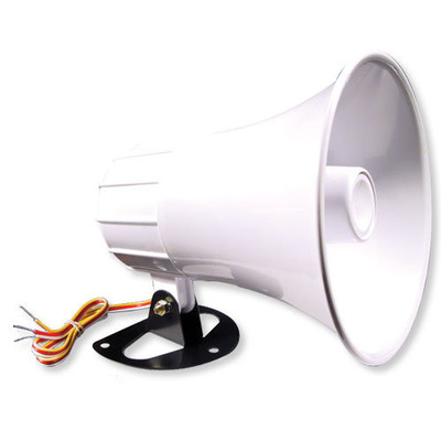 Elk Self-Contained Exterior Siren, 15W Horn