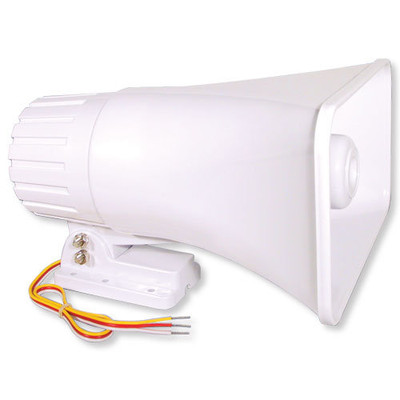 Elk Self-Contained Exterior Siren, 30W Horn