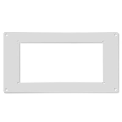 Ecovent Adapter for Ceiling and Wall, White, 6x14