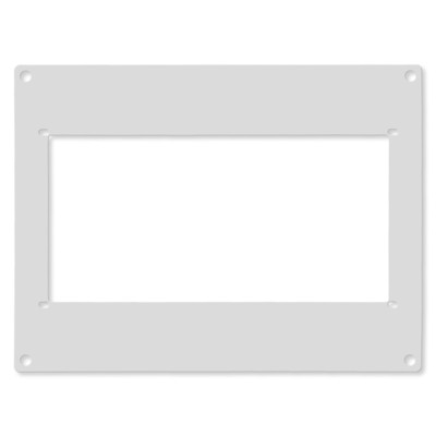 Ecovent Adapter for Ceiling and Wall, White, 8x12