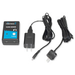 FortrezZ Z-Wave Plus Flood & Temperature Sensor with Probe & Power Supply, Gen3