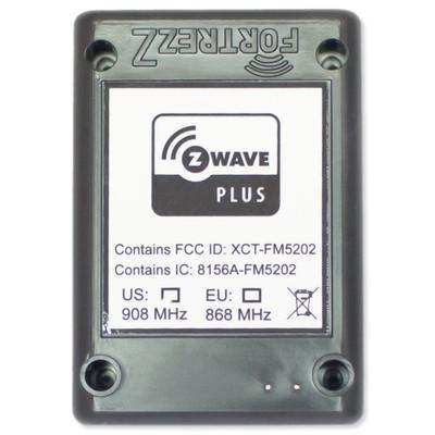 FortrezZ Z-Wave Plus Flood & Temperature Sensor with Probe & Power Supply, Gen3