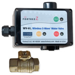 FortrezZ Z-Wave Indoor Automated Water Shut-off Actuator with 1 In. Valve