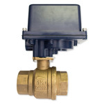 FortrezZ Large Size Automated Shut-Off Valve, 2 In.