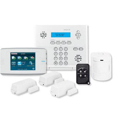 Interlogix Simon XT Home Security Kit with Touch Screen
