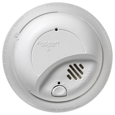 first alert ac smoke alarm with battery backup. Black Bedroom Furniture Sets. Home Design Ideas