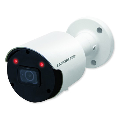 Camect Smart Video Recorder Hub with 4 Weatherproof 5MP IP Bullet Cameras