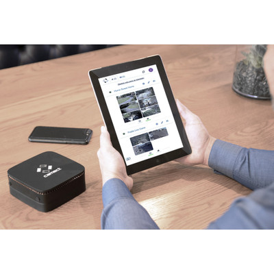 Camect Smart Video Recorder Kit: Hub with 8 Bullet IP Cameras