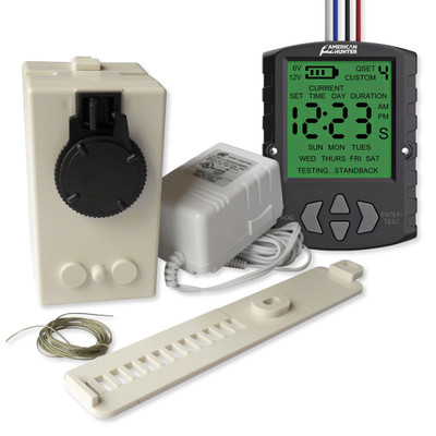 Home Controls Chicken Coop Motor with Timer