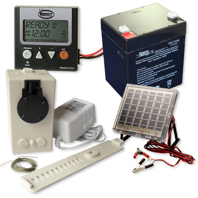 Home Controls Chicken Coop Motor Kit With Timer Solar