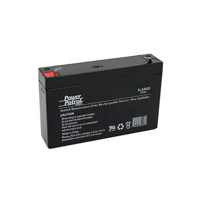 Interstate Batteries Power Patrol Lead Acid Battery, 6V 7Ah