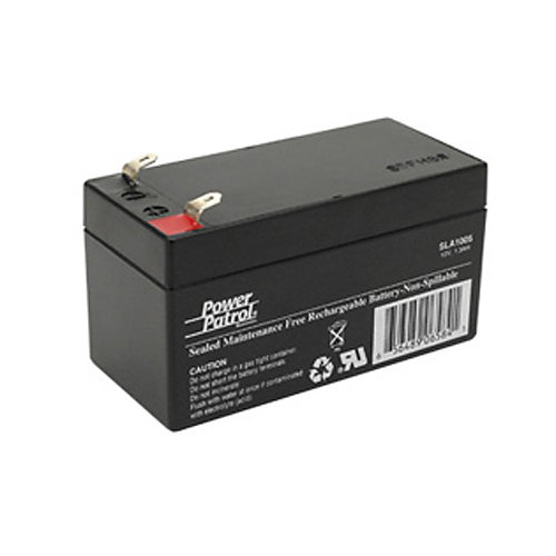 Interstate Batteries Power Patrol Lead Acid Battery, 12V 1.3Ah