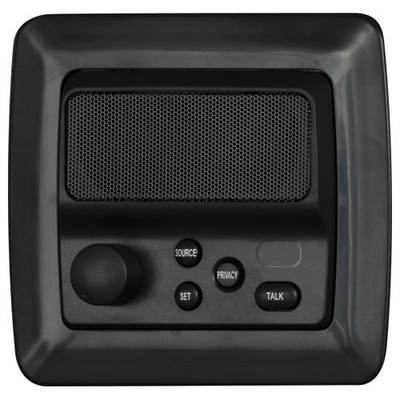 IST RETRO Intercom Patio Station, Black