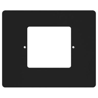 IST RETRO Intercom Room & Patio Station Horizontal Plastic Cover Plate, Black