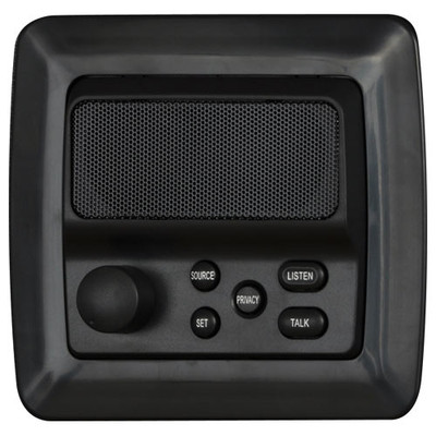 IST RETRO Intercom Room Station, Black