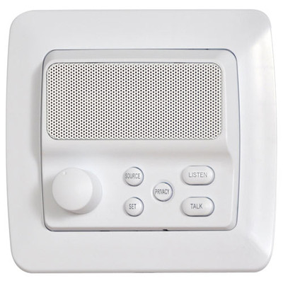 IST RETRO Intercom Room Station, White