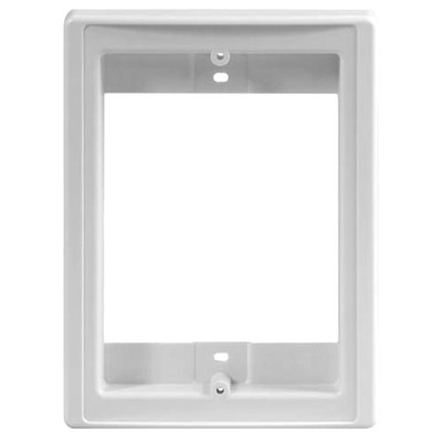 IST RETRO Intercom Door Station Retrofit Mounting Frame, White