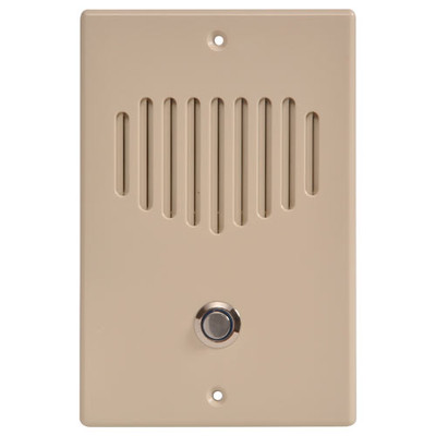 IST RETRO Intercom Door Station, Almond