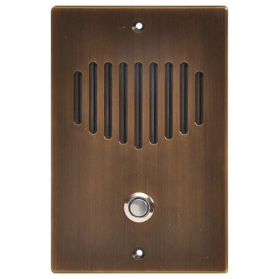 IST RETRO Intercom Door Station, Gold