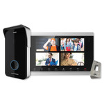 IST V510 10 In. Monitor & Smartphone Video Doorbell Kit