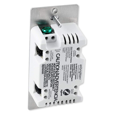 GE Enbrighten Zigbee In-Wall Smart Toggle Switch With QuickFit and SimpleWire, White