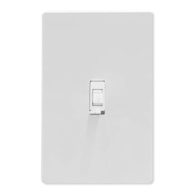 GE Enbrighten Zigbee In-Wall Smart Toggle Dimmer With QuickFit And SimpleWire, White