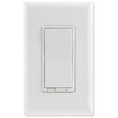 GE Enbrighten Z-Wave Plus In-Wall Smart Fan Control, White