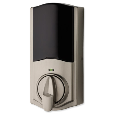 Kwikset SmartCode 888 Series Z-Wave Plus Deadbolt with Home Connect, Satin Nickel