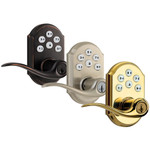 Kwikset SmartCode 912 Z-Wave Traditional Leverset with Home Connect, Venetian Bronze