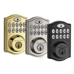 Kwikset SmartCode 914 Z-Wave Deadbolt with Home Connect, Polished Brass