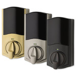 Kwikset Convert Z-Wave Plus Lock with Home Connect, Polished Brass