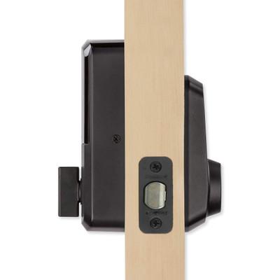 Kwikset Aura Keypad Bluetooth Smartlock, Iron Black