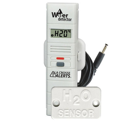 La Crosse Alerts Add-on Temperature & Humidity Sensor with Water Probe