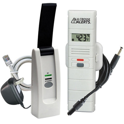 La Crosse Alerts Temperature & Humidity Monitor & Alert Kit with Dry Probe