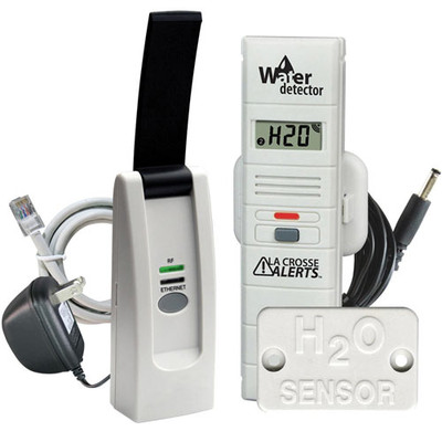 La Crosse Alerts Temperature & Humidity Monitor & Alert Kit with Water Probe