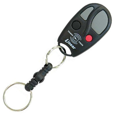 Linear MegaCode Block Coded Key Ring Transmitter & Proximity Tag, 4-Channel