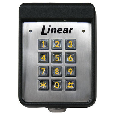 Linear Ak11 Access Control Digital Keypad Outdoor