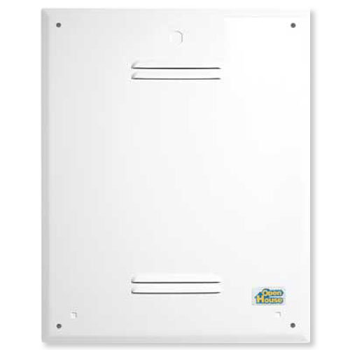 openhouse hc18a or hc36a enclosure cover rh homecontrols com open house structured wiring panel open house structured wiring home page