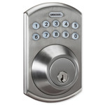 LockState RemoteLock 5i-B Wi-Fi Electronic Deadbolt Door Lock, Polished Brass