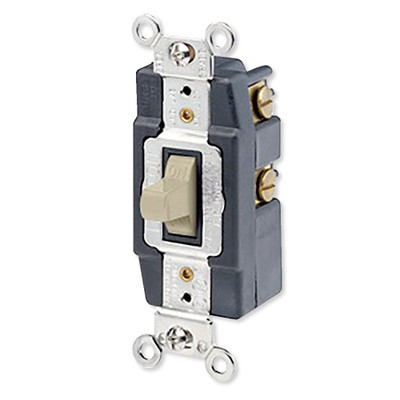 Leviton Single-Pole AC Quiet Toggle Switch, Momentary ...