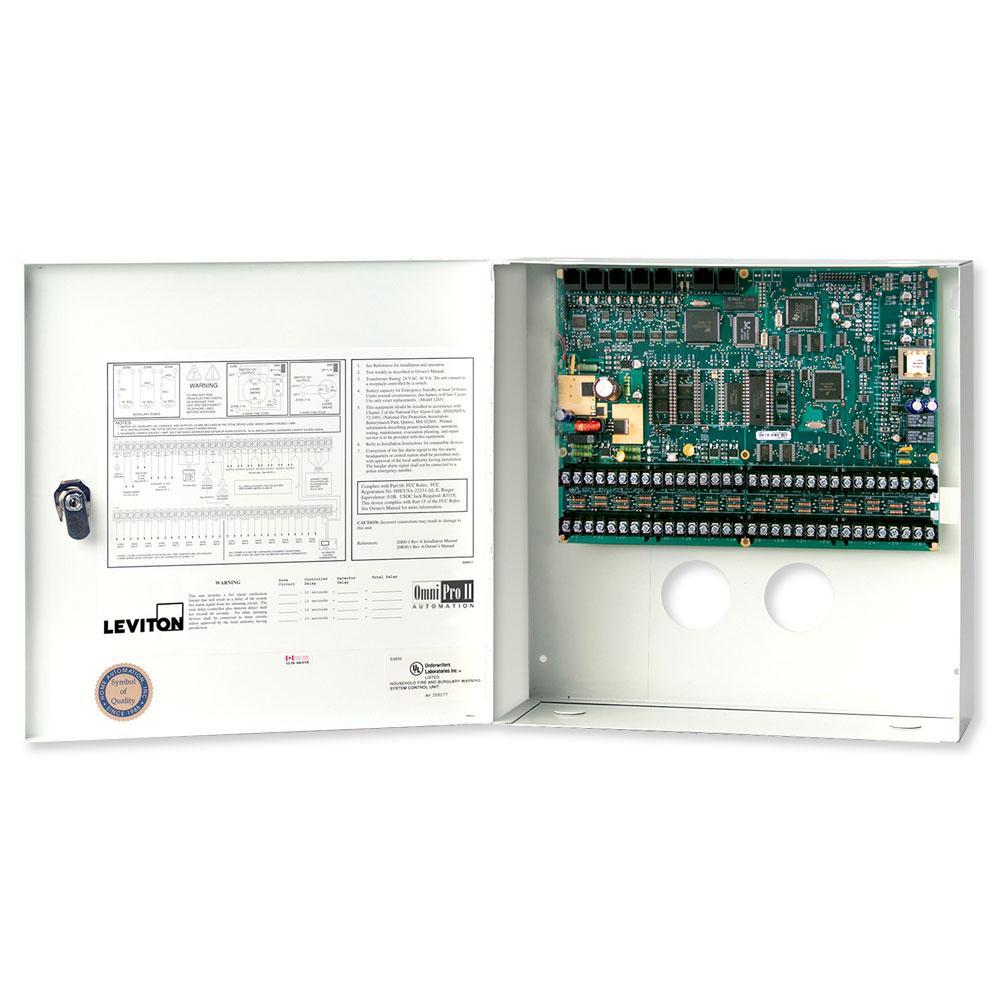 Leviton OmniPro II Controller in Enclosure
