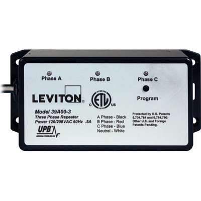 Leviton UPB Wired-In 3-Phase Repeater