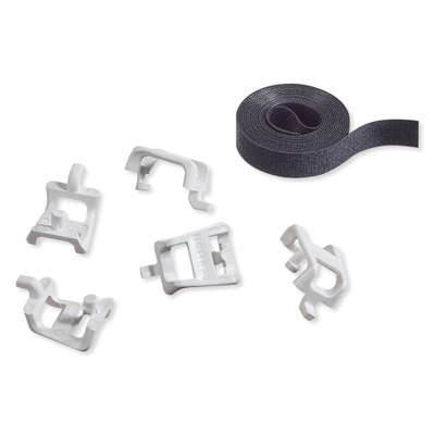 Leviton Plastic Saddle Tie Kit with VELCRO Cable Management