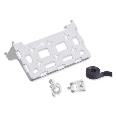 Leviton Plastic Universal Shelf Bracket for Structured Media Center